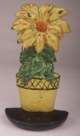 Click to view Poinsettia Hubley Door Stop photos