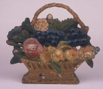 Click to view Basket of Fruit Door Stop photos