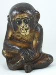 Click to view Sitting Monkey Door Stop photos