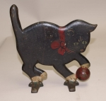 Click to view Kitten w/ Ball Door Stop photos