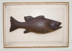 Thumbnail Image: Carved Bass Fish Plaque