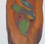 Thumbnail Image: Baltimore Oriole Bird Wood Plaque