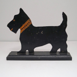 Click to view Antique Scottie Cast Iron Doorstop  photos