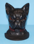 Click to view Antique Boston Terrier Doorstop photos